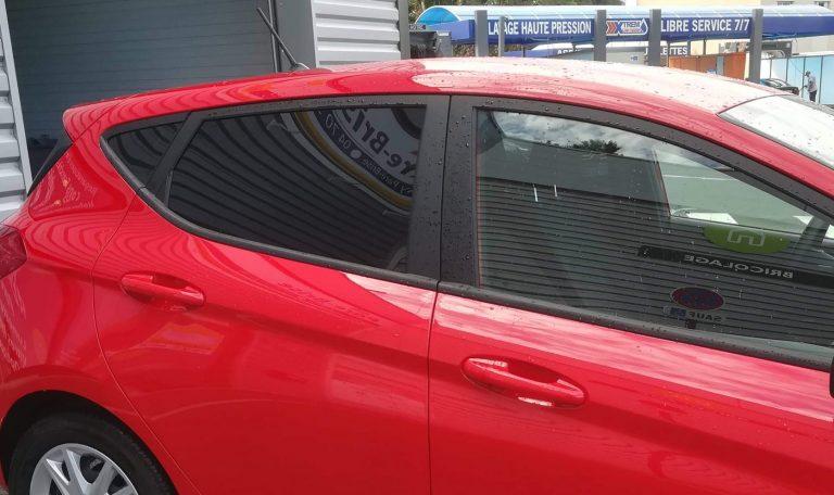 Vitres teintées arrière Ford Fiesta