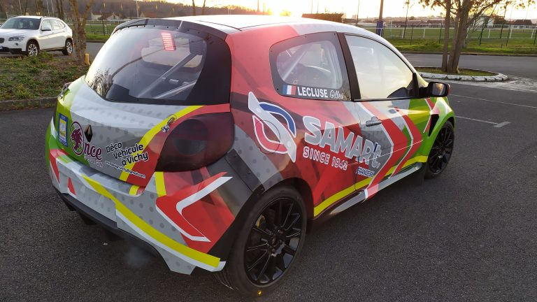 Total covering Clio3 RS