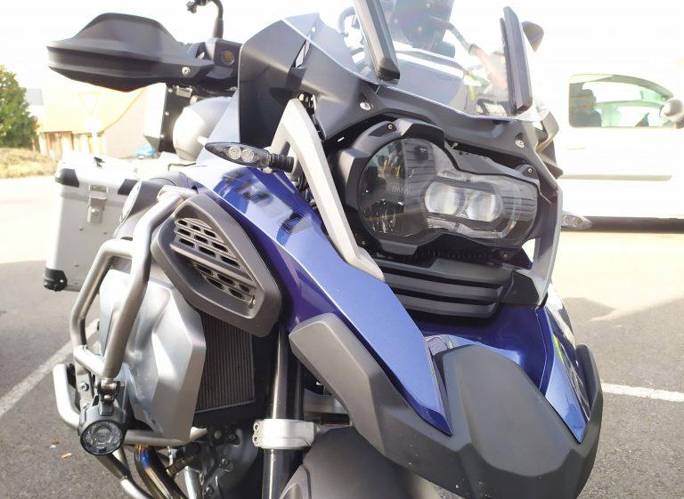 Garde boue moto après covering