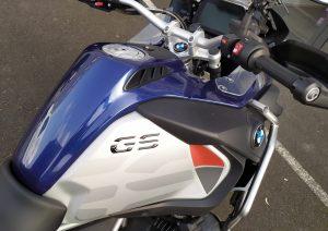 Covering Cache réservoir de moto