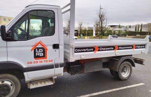 Décoration Camion benne LDRB