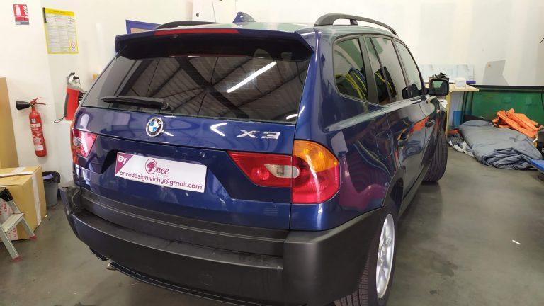Teintage 3/4 arrière BMW X3